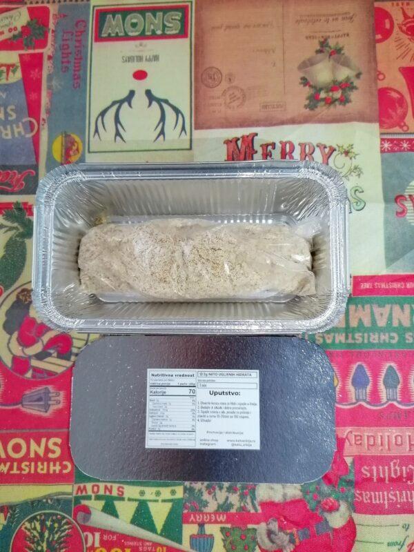 pakovanje za jedan keto hleb